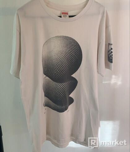 Supreme MC Escher Three Spheres Tee