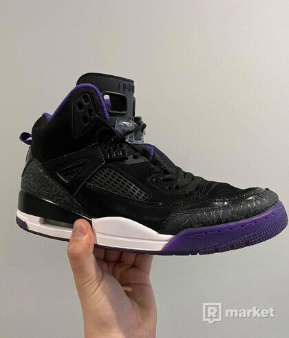 Nike Air Jordan Spizike Black Court Purple