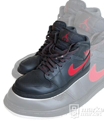 Nike Air Jordan 1 Mid Anthracite/Gym Red