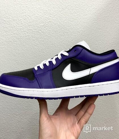 Air Jordan 1 Low Court Purple - US10
