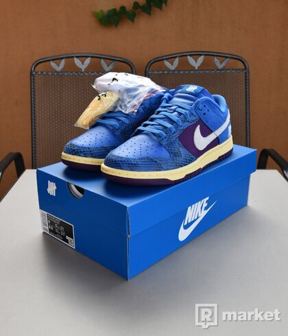 Nike Dunk Low Undefeated 5 On It