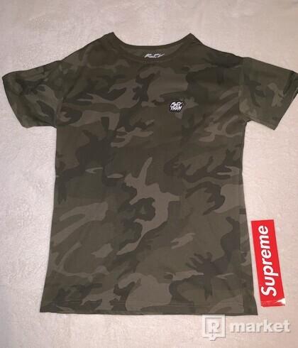 FckThem Camo T-Shirt