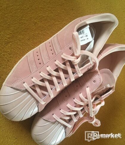SUPERSTAR 80S W METAL PACK - ICE PINK
