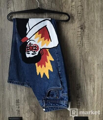 Vintage Zara denim jeans