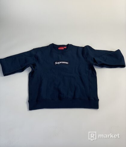Box Logo Crewneck Navy