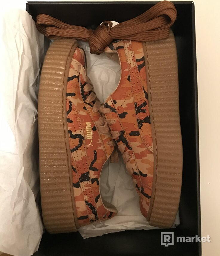 Fenty x Wmns Suede Creepers 'Orange Camo'