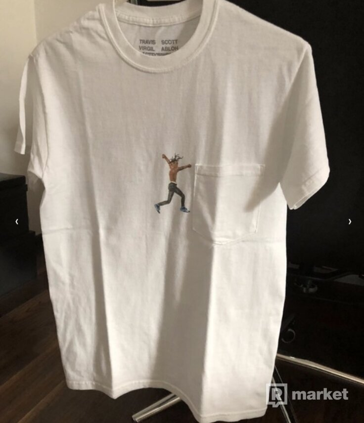 WTS Travis Scott x Virgil Abloh tee