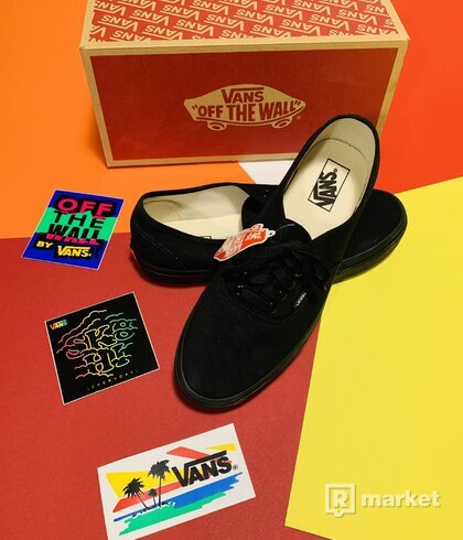 Vans Authentic Canvas Black Vans Authentic Canvas Black US10,5/UK9,5/EUR44