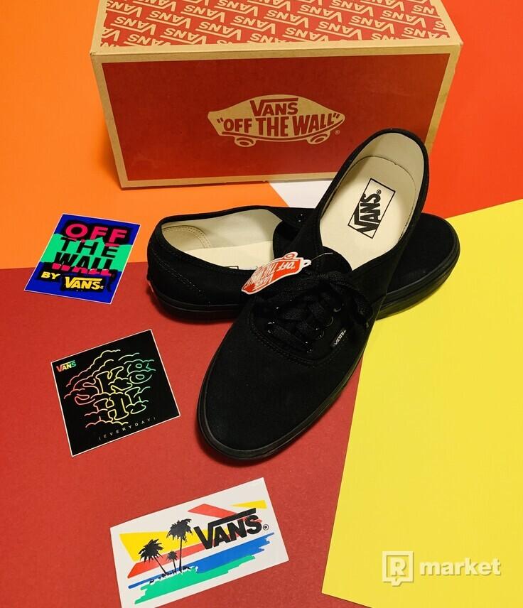 Vans Authentic Canvas Black Vans Authentic Canvas Black US10,5/UK9,5/EUR44
