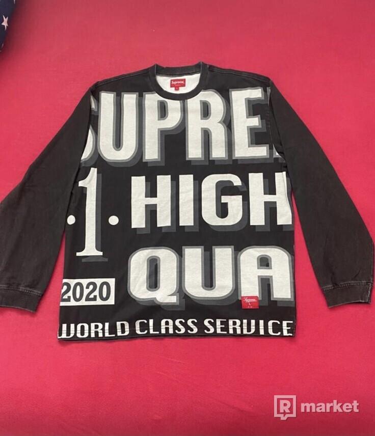 Supreme World Class Longsleeve