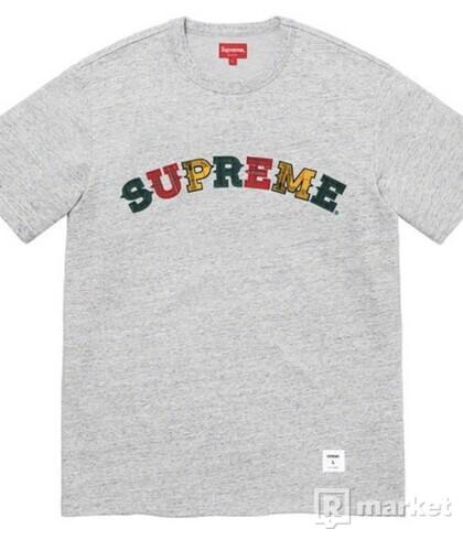 Supreme Plaid Appliqué S/S Top