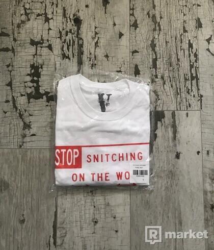 Vlone x Pop Smoke Stop Snitching