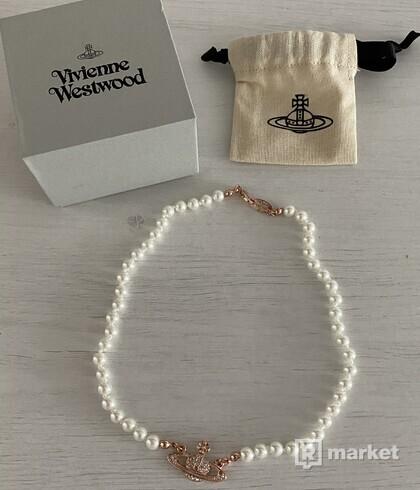 Vivienne Westwood náhrdelník pearl necklace