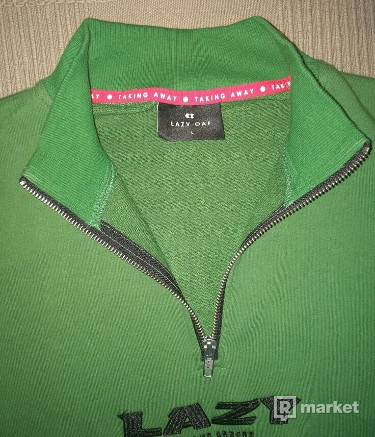 Lazy Oaf Taking No Orders zip sweatshirt