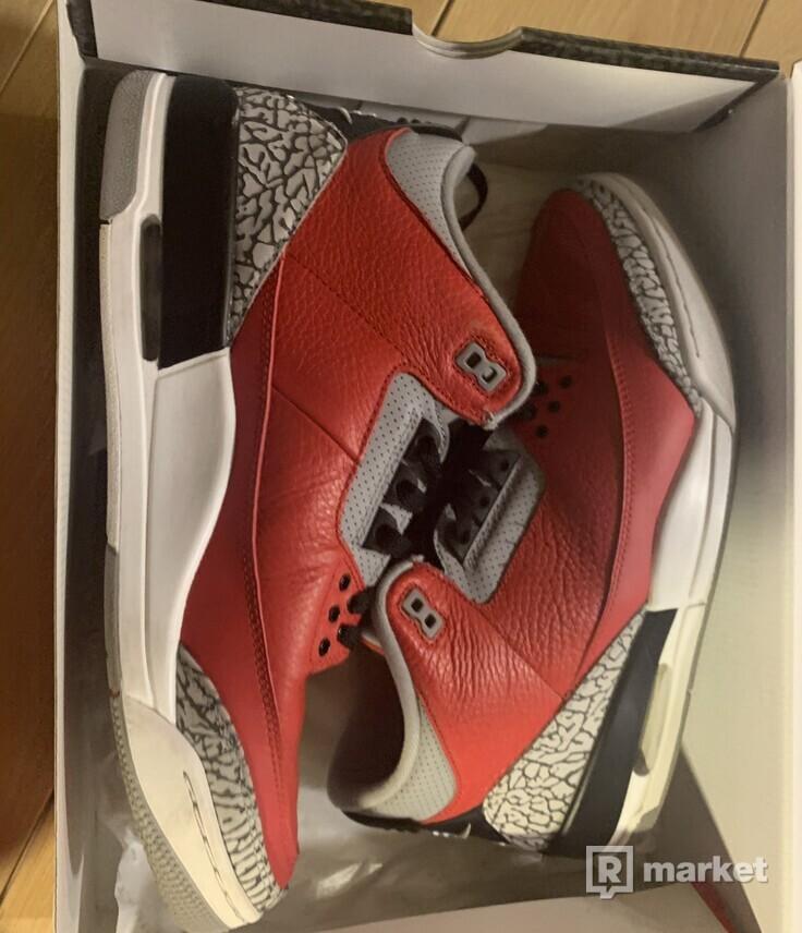 Air Jordan 3 Red Cement