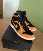 "Jordan 1 Mid ""Orange Peel"""
