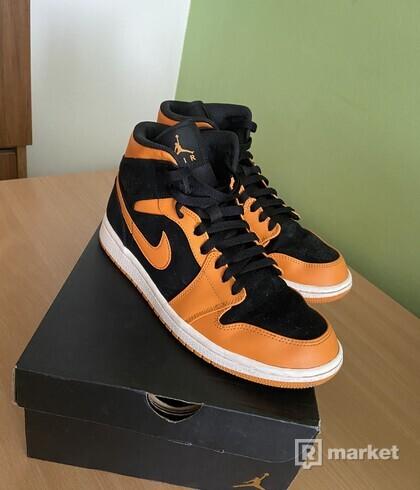 """Jordan 1 Mid """"Orange Peel"""""""
