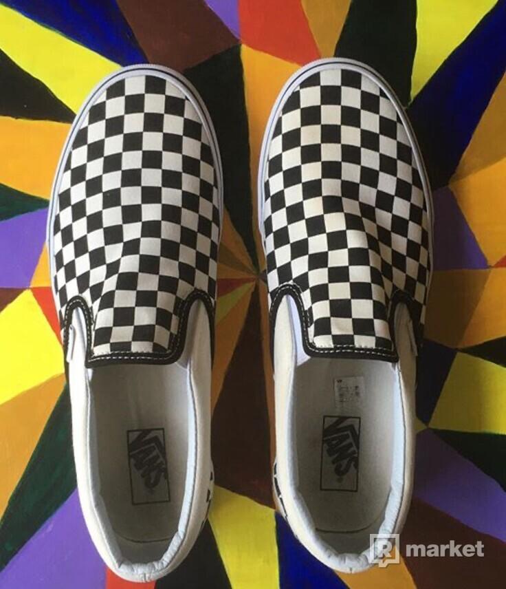 Vans slip-on (black/white)