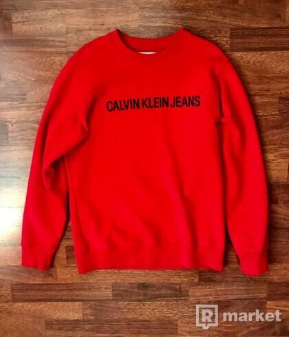 Calvin Klein mikina red