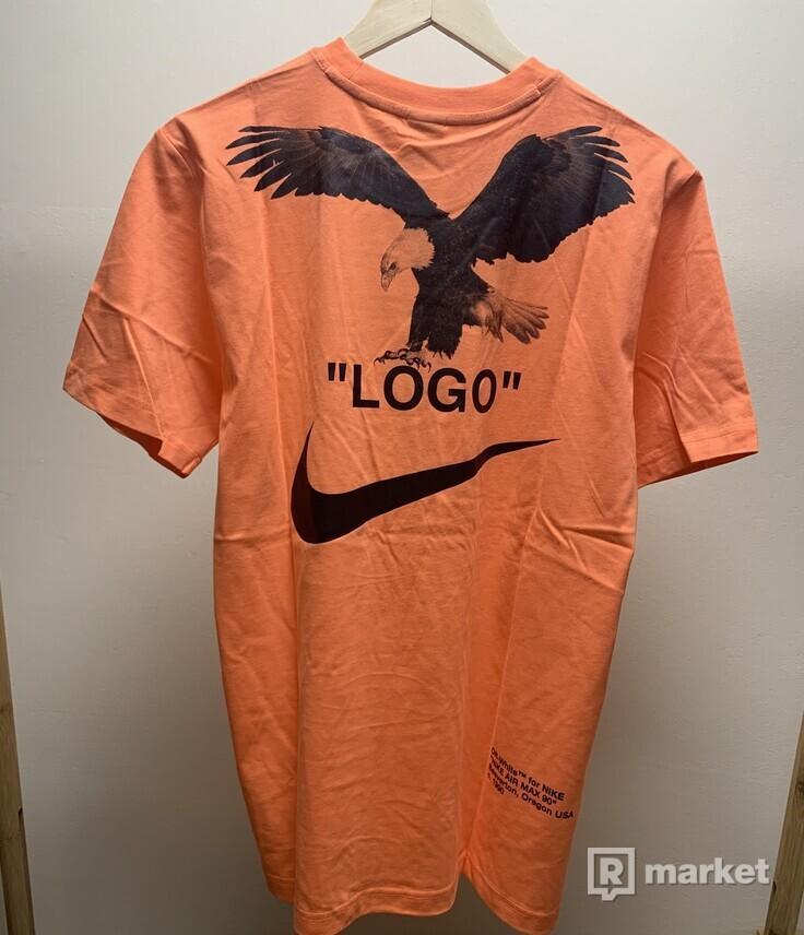 Off-White x Nike NRG A6 Tee Wild Mango