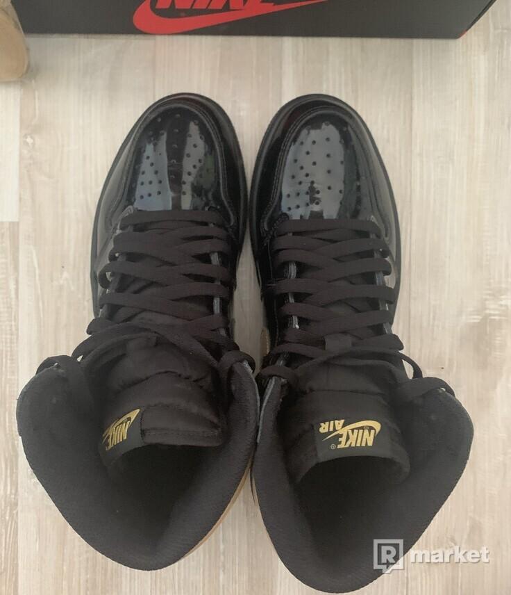 Air Jordan 1 Metallic Gold 10US