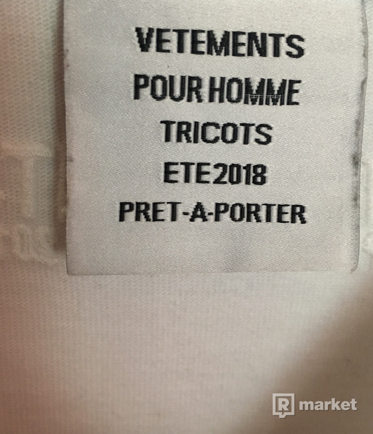 Vetements Bro Sweatshirt