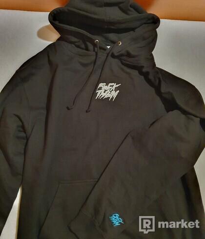 F*CK THEM hoodie black