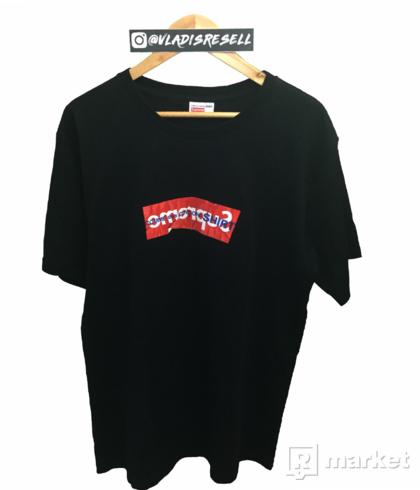 Supreme x CDG Boxlogo SS17 Black XL