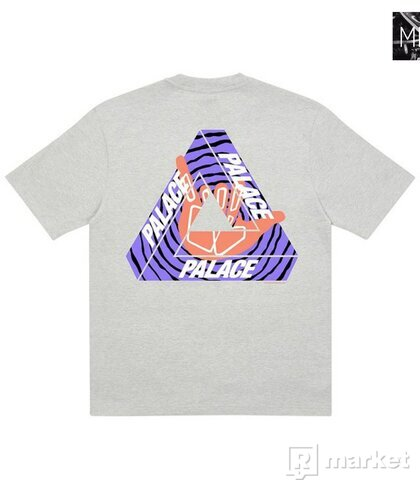 Palace Tri-Zooted Shakka T-Shirt Grey Marl