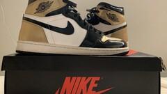 Air Jordan 1 retro high og NRG gold toe