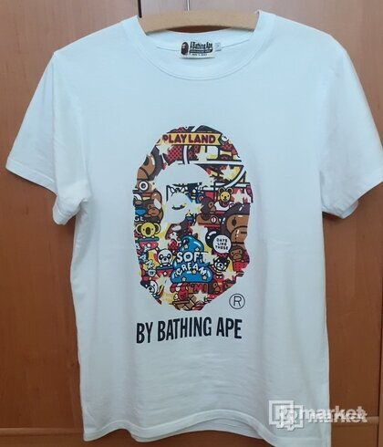 Bape Big Head Baby Milo Tee