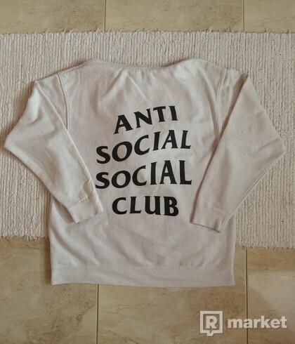 Anti Social Social Club White Hoodie