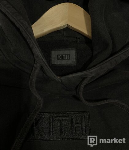 Kith classic logo hoodie