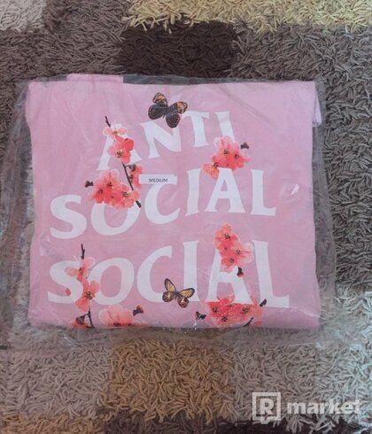 Anti social social club hoodie mikina
