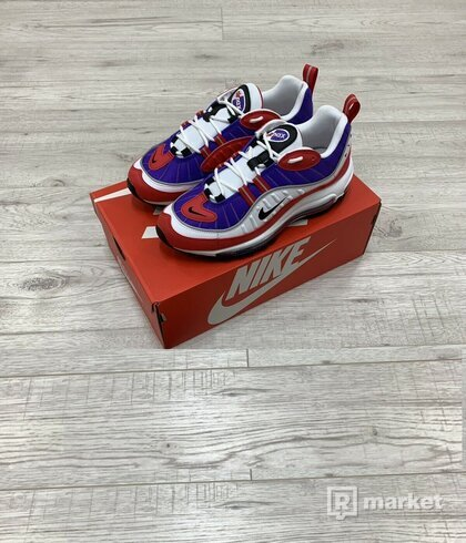 Nike air max 98 purple/red/white