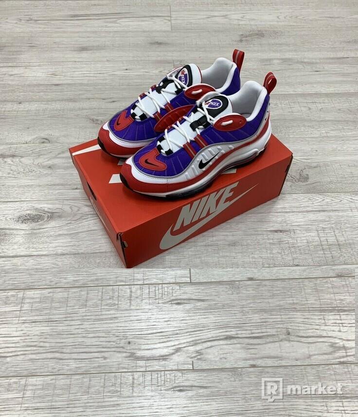 Nike air max 98 purple/red/white