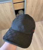 Gucci baseball cap black