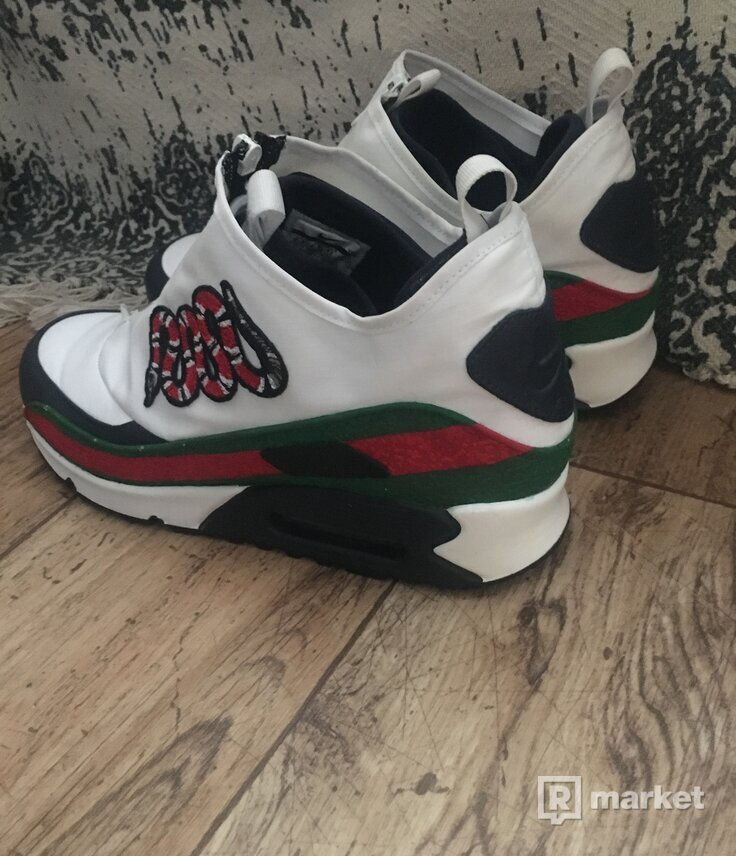 Nike air max 90 utility  MK CUSTOMs gucci