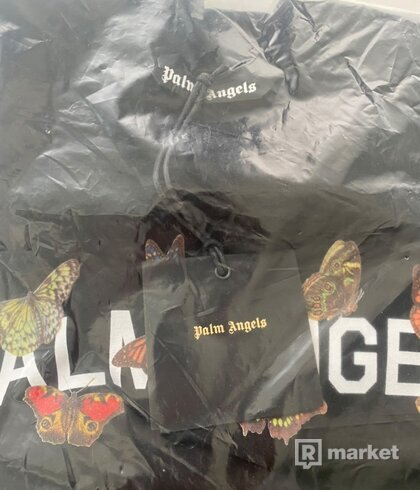 Palm Angels Butterfly Tee