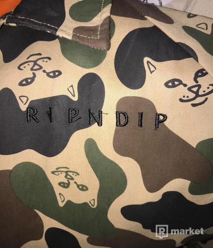 Rip N Dip amry jacket