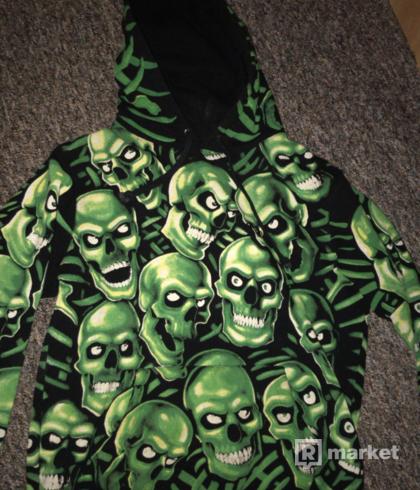 Supreme skull pile hoodie