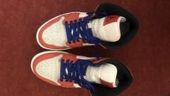 Air Jordan 1 mid team orange