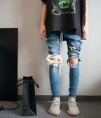Custom Drop Crotch Skinny Jeans