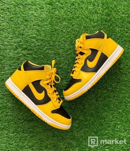 "Nike dunk high ""Varsity maize"""
