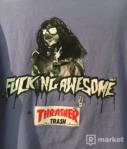 Thrasher x Fucking Awesome