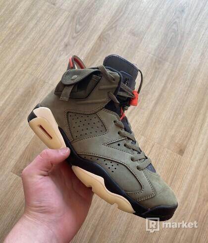 Nike Air Jordan 6 Travis Scott