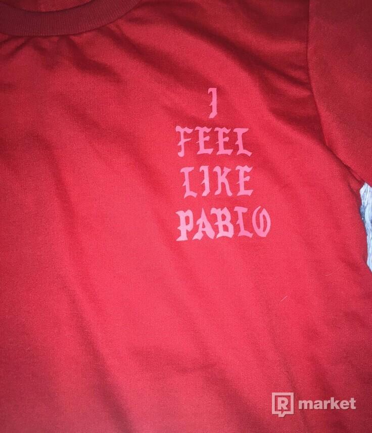 Mikina I FEEL LIKE PABLO Size M