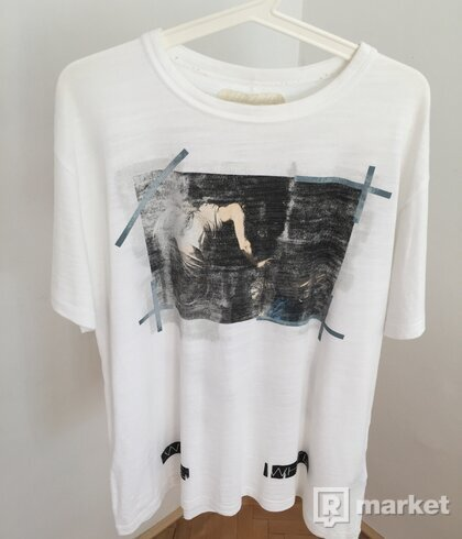 Off White Caravaggio Annunciation Tee White