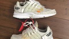 OFF-WHITE x Air Presto 'White'
