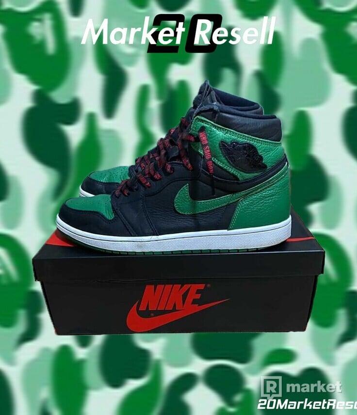 "Air Jordan 1 High ""Pine Green 2.0"""